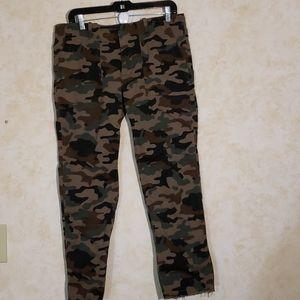 Nili Lotan Camo Jeans
